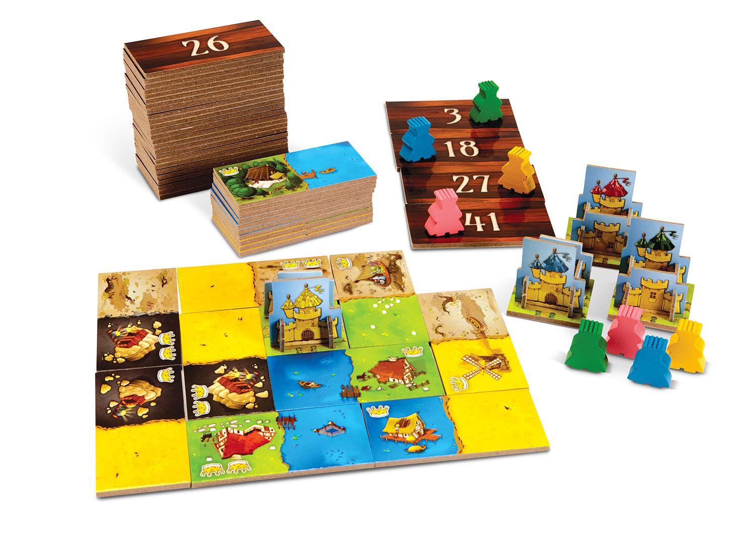 Kingdomino game open