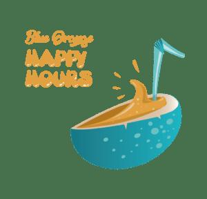Happy Hours Blue Orange