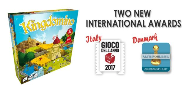 Two new international awards for Kingdomino