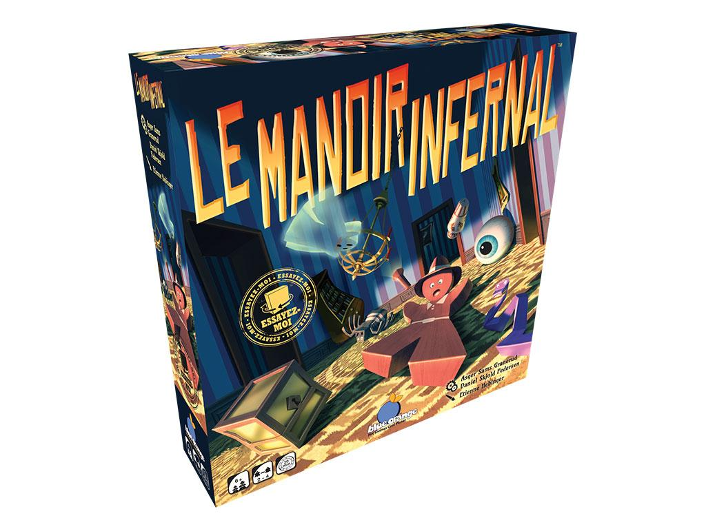 Le Manoir Infernal 3D Box
