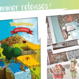 Summer releases from Blue Orange