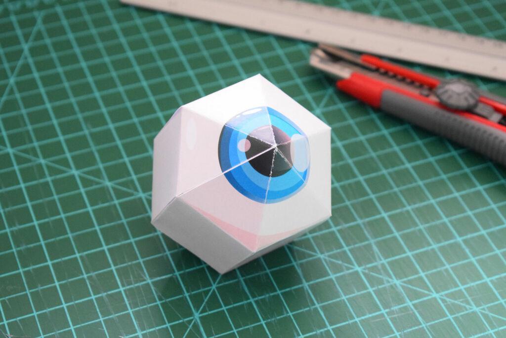 Panic Mansion Paper Toy