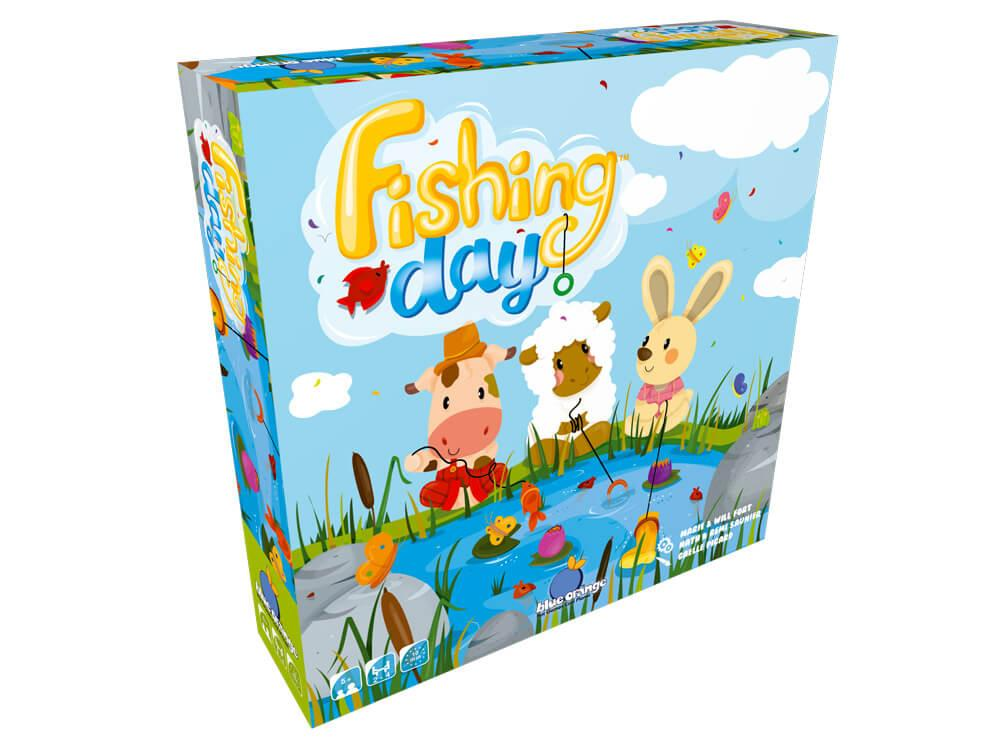 Fishing Day 3D Box