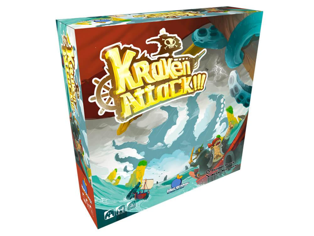 Kraken Attack 3D Box