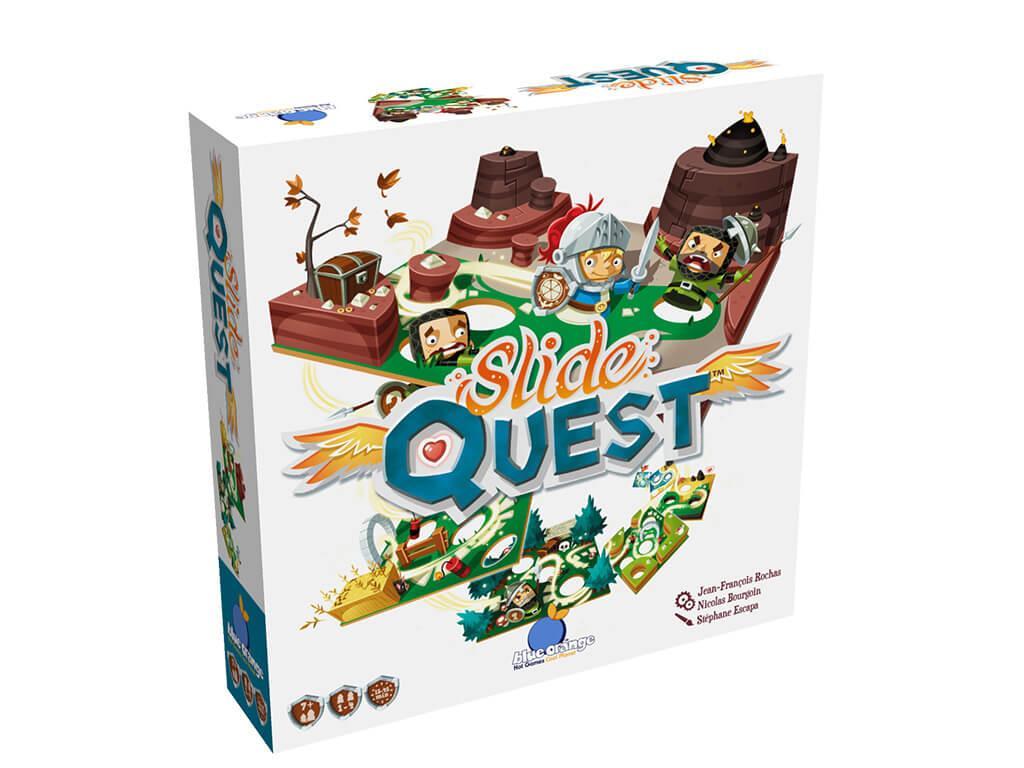 Slide Quest 3D Box