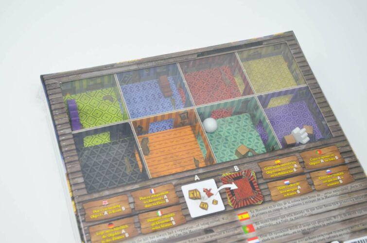 Panic Mansion Back Box