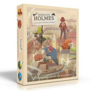 Sherlock Holmes 3D Box