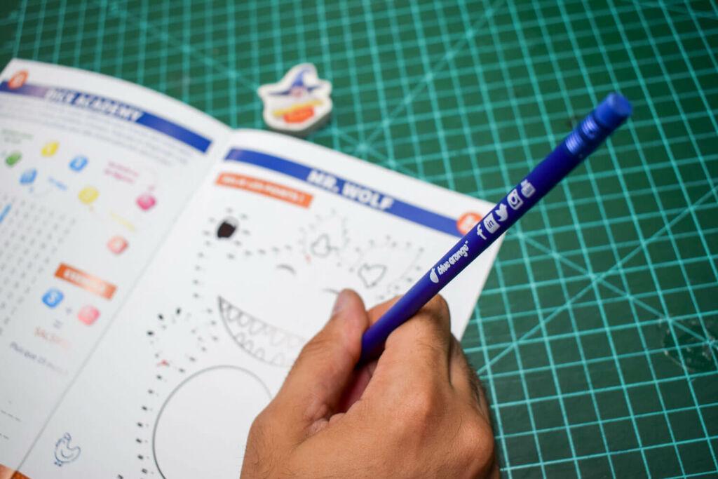 Le cahier de vacances de Blue Orange