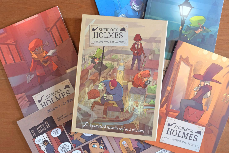 Sherlock Holmes - Le jeu dont VOUS êtes LES héros !