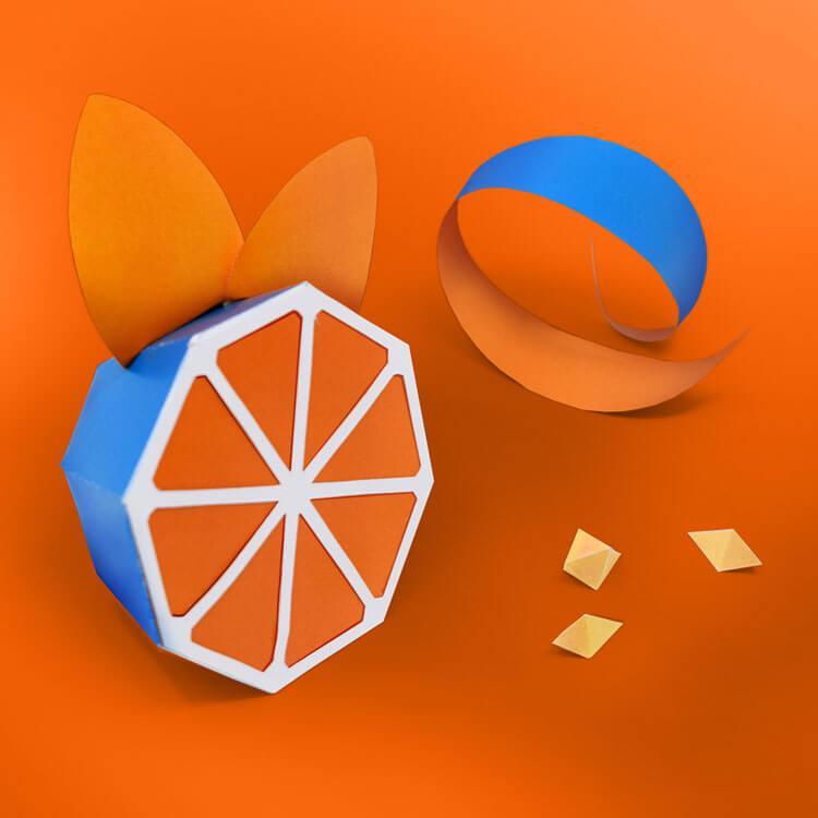Artwork catalogue Blue Orange