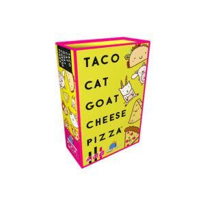 Taco Cat Goat Cheese Pizza 3D Box