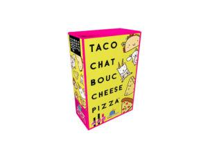Taco Chat Bouc Cheese Pizza 3D Box