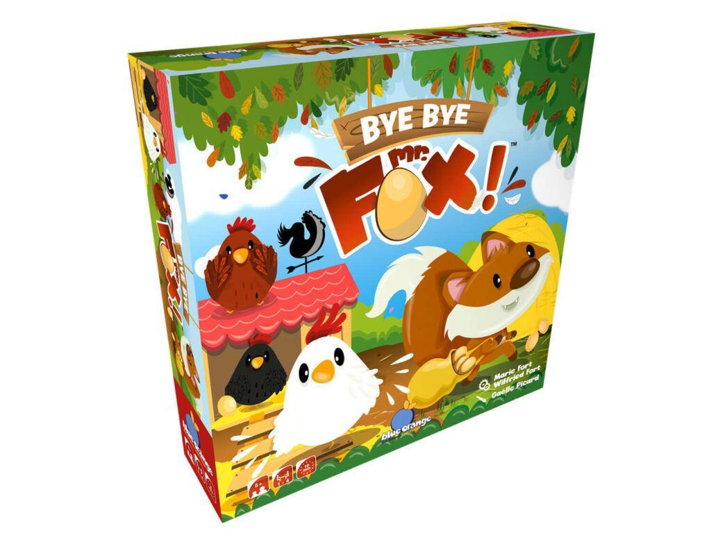 Bye Bye Mr Fox 3D Box
