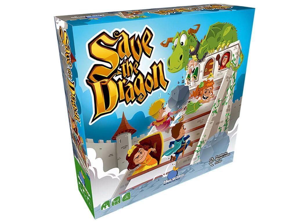 Save The Dragon 3D Box