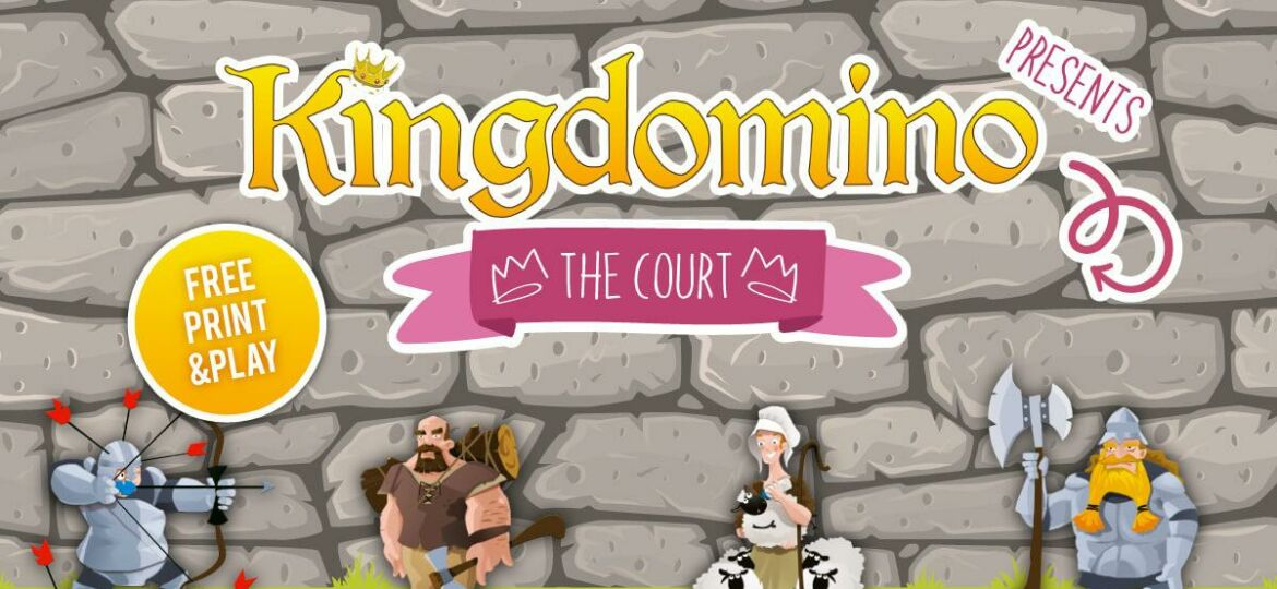 Kingdomino Expansion The Court Print and Play