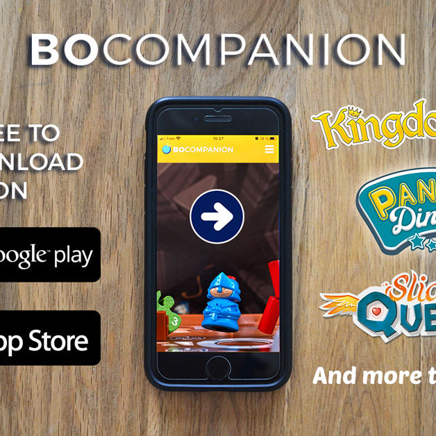 BO Companion app on stores