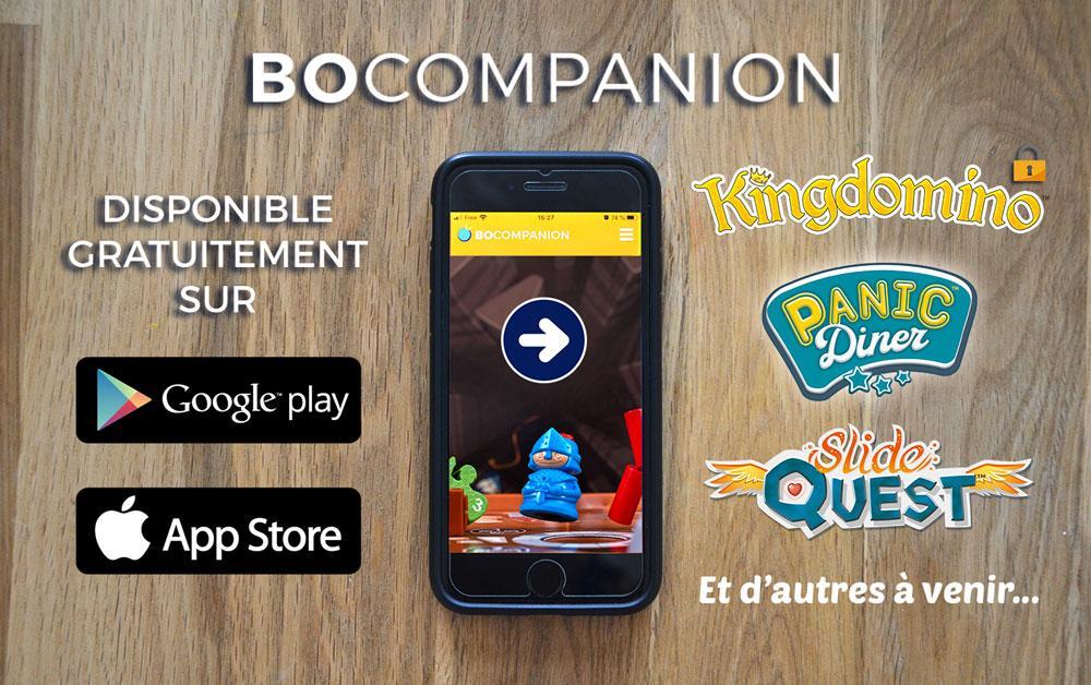 Application BO Companion sur les stores