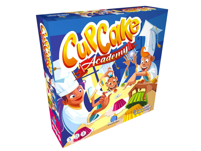 Cupcake Academy 3D Box