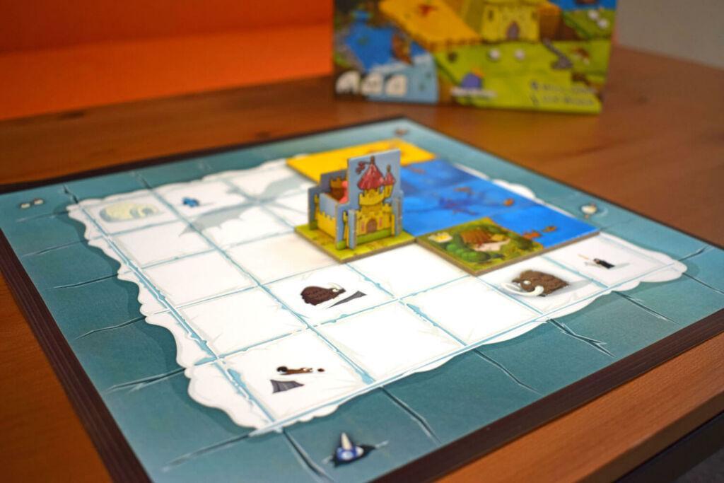 Playmat Kingdomino printed