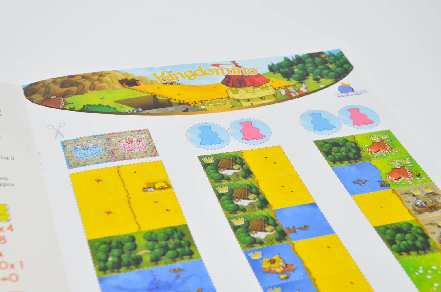 Free Sample Kingdomino for two players