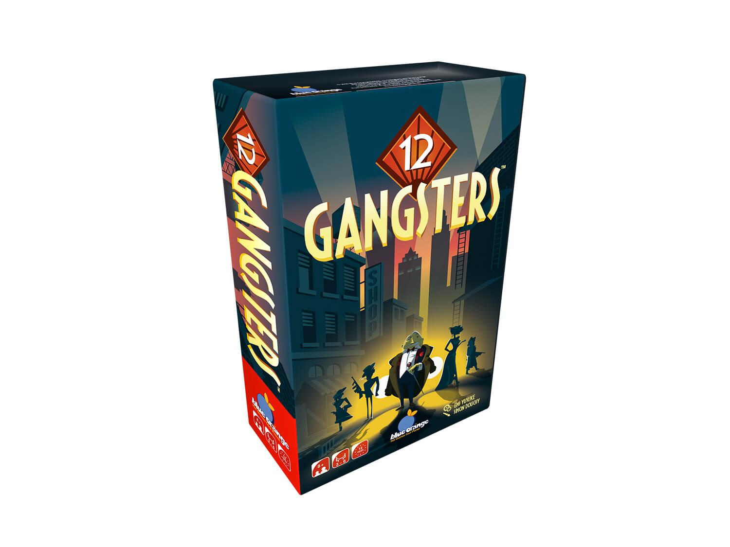 12 Gangsters 3D Box