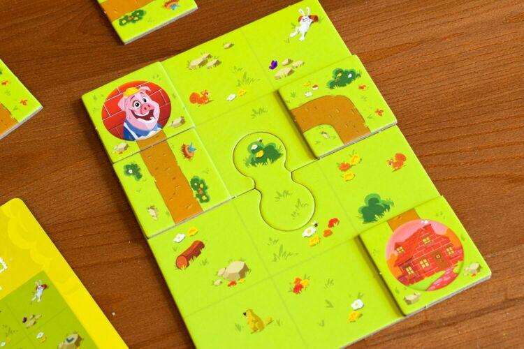 Pig Puzzle gameplay