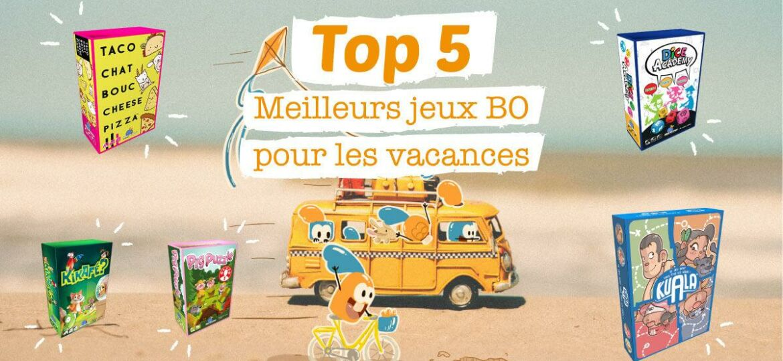 Top 5 des meilleurs jeux de société Blue Orange pour les vacances
