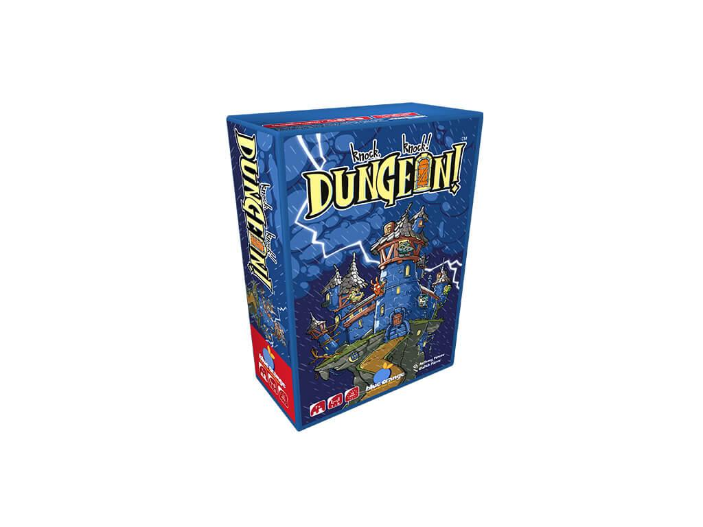 Knock Knock Dungeon 3D Box
