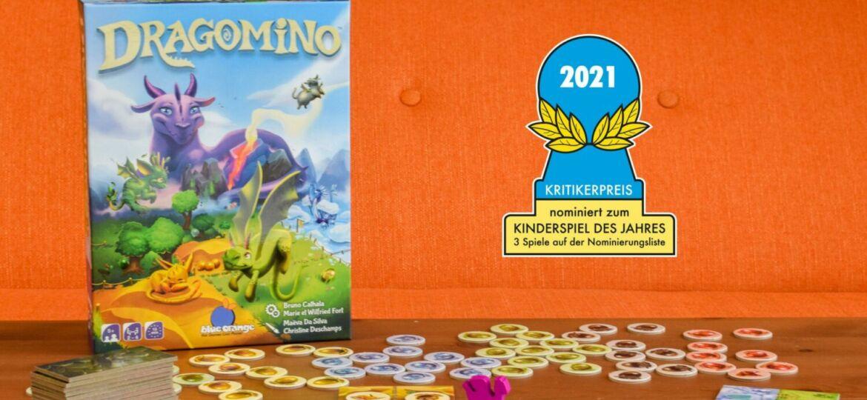 Dragomino est nommé au Kinderspiel des Jahres